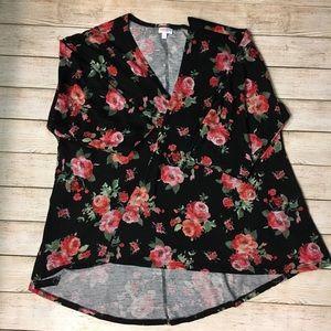 Lularoe floral cardigan